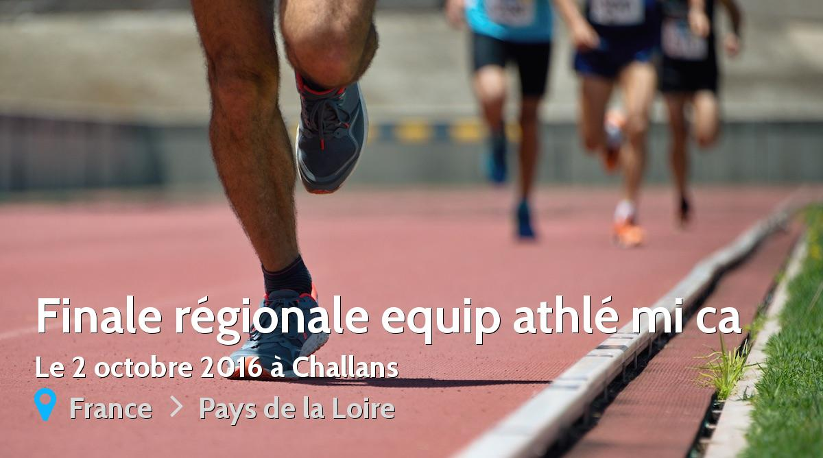 Tour régional Equip Athlé samedi à Challans
