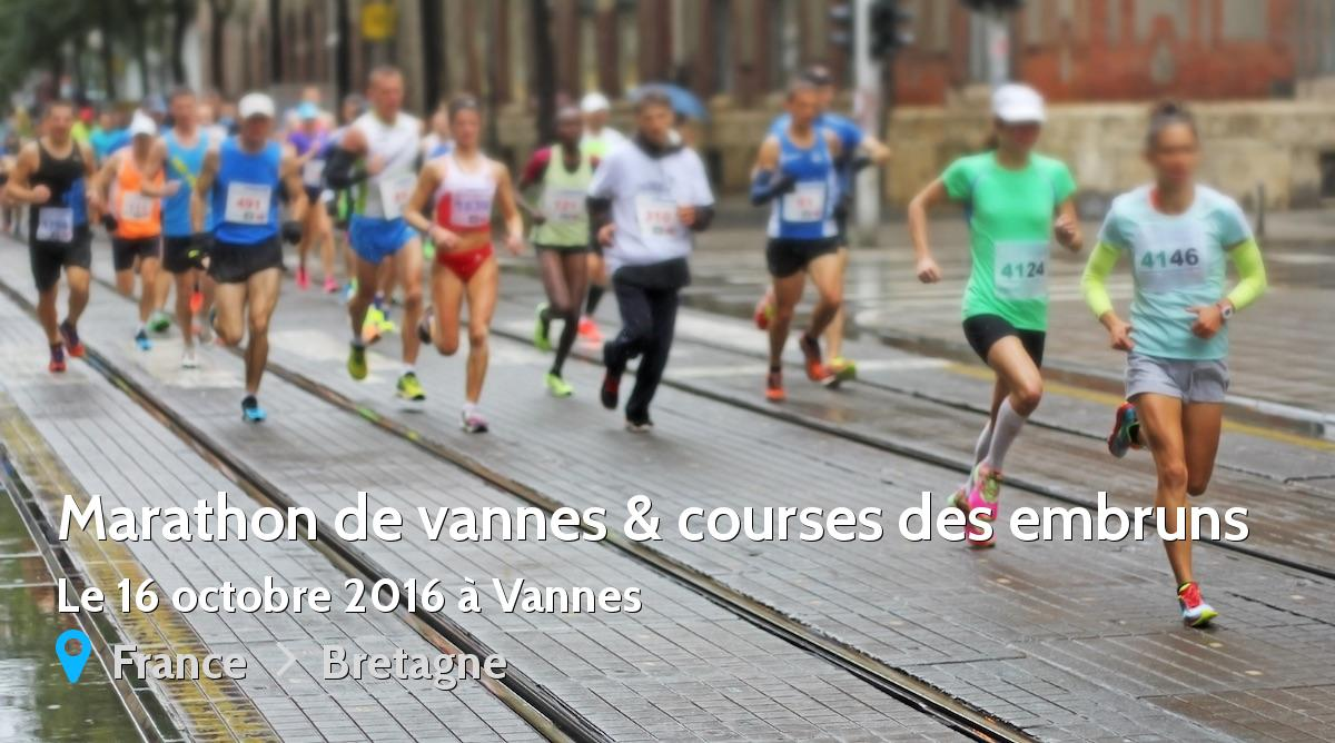 marathon de vannes courses des embruns 2016 r sultats 10 km route tc. Black Bedroom Furniture Sets. Home Design Ideas