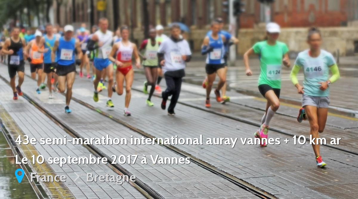 43e semi marathon international auray vannes 10 km ar 2017 r sultats 1 2 marathon tc. Black Bedroom Furniture Sets. Home Design Ideas
