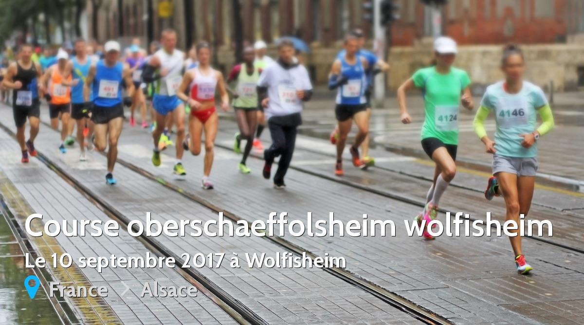 course a pied wolfisheim